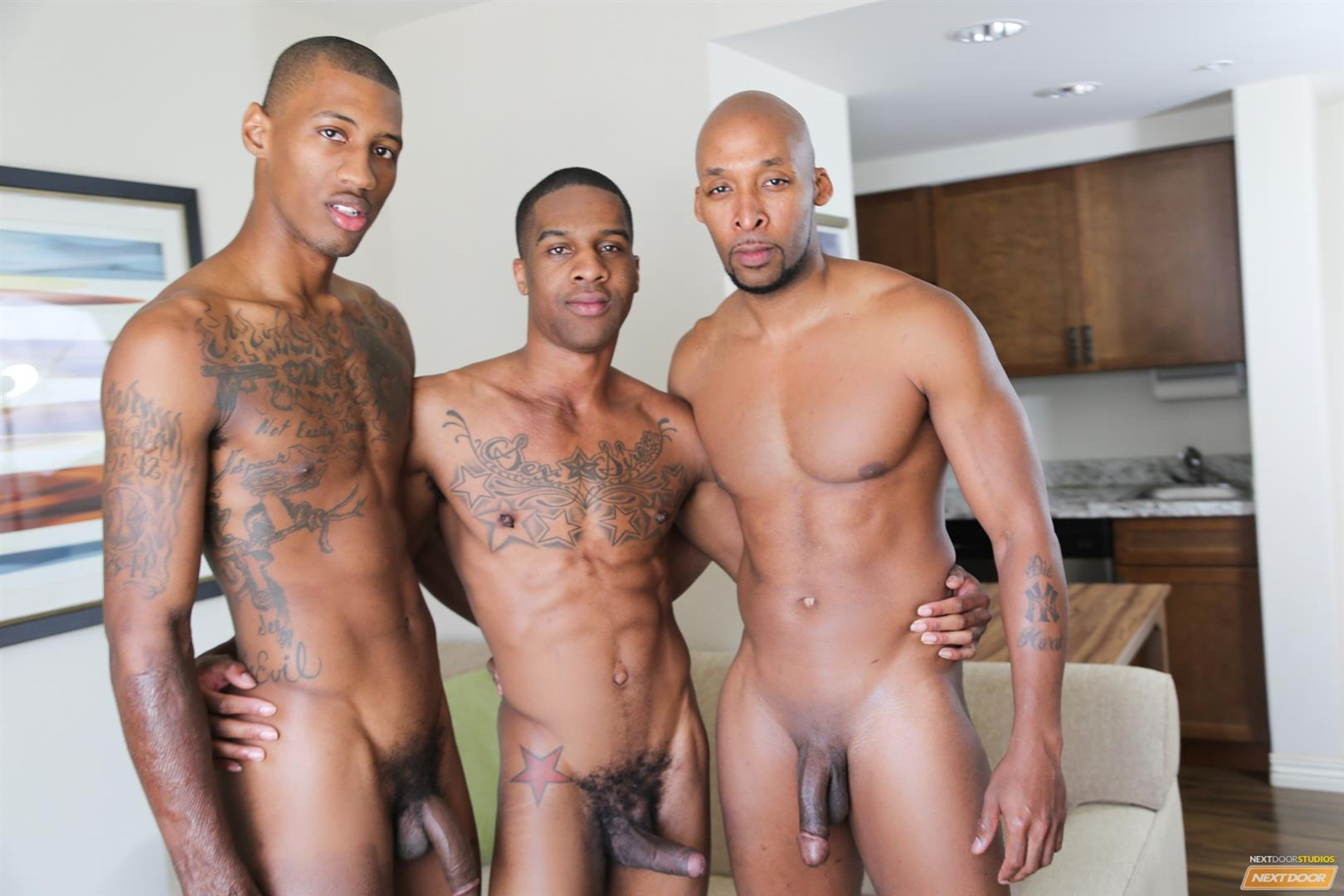 African gay group having sex and jack off 9