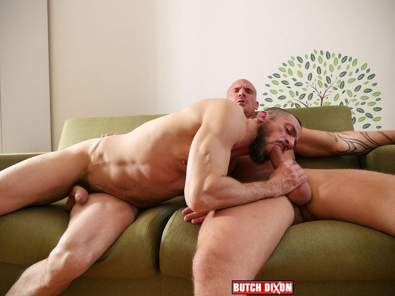 Butch-Dixon-Erik-Lenn-and-Mike-Bourne-Masculine-Guys-Fucking-Bareback-Amateur-Gay-Porn-11 Beefy Masculine Guys Fucking Bareback With A Big Uncut Cock