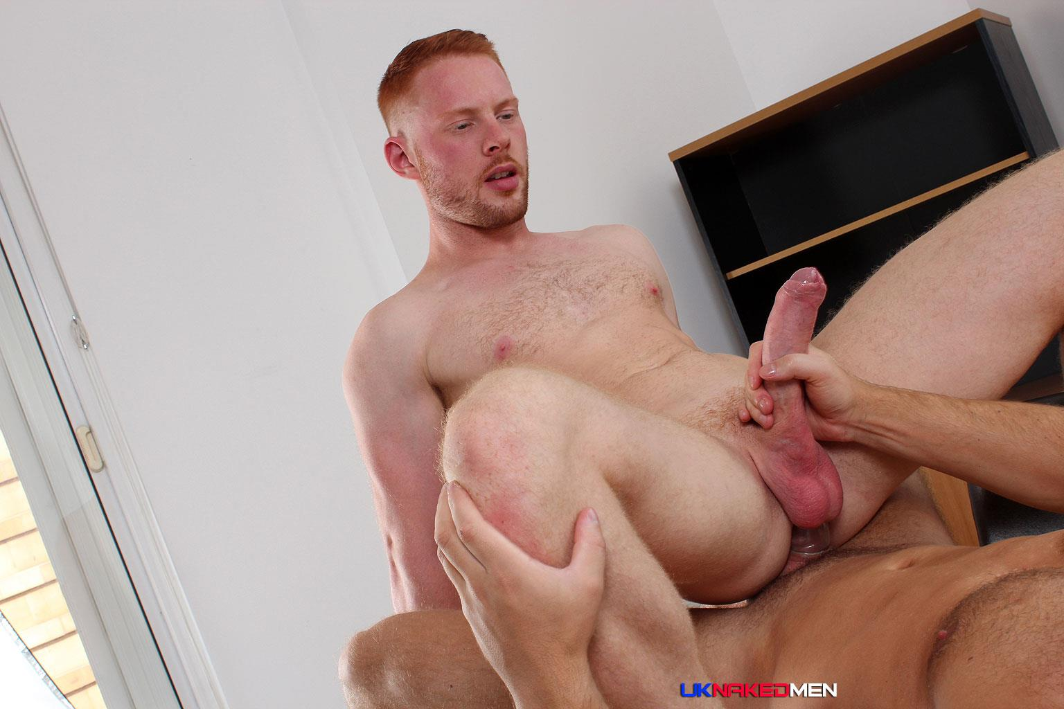 UK Naked Men Logan Moore and Andro Maas Redhead Gets Fucked By Big Uncut Cock Amateur Gay Porn 17 Redhead Andro Maas Takes A Big Thick Uncut Cock Up The Ass