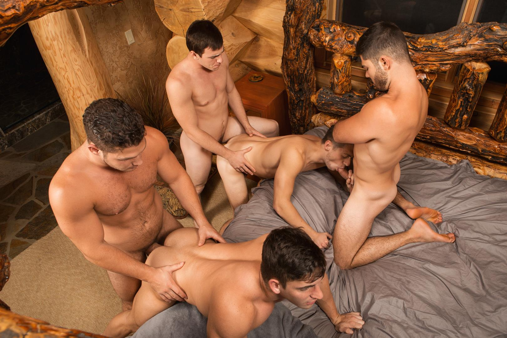Sean Cody Winter Getaway Day 1 Big Dick Hunks Fucking Bareback Amateur Gay Porn 12 Sean Cody Takes The Boys On A 8 Day Bareback Winter Getaway