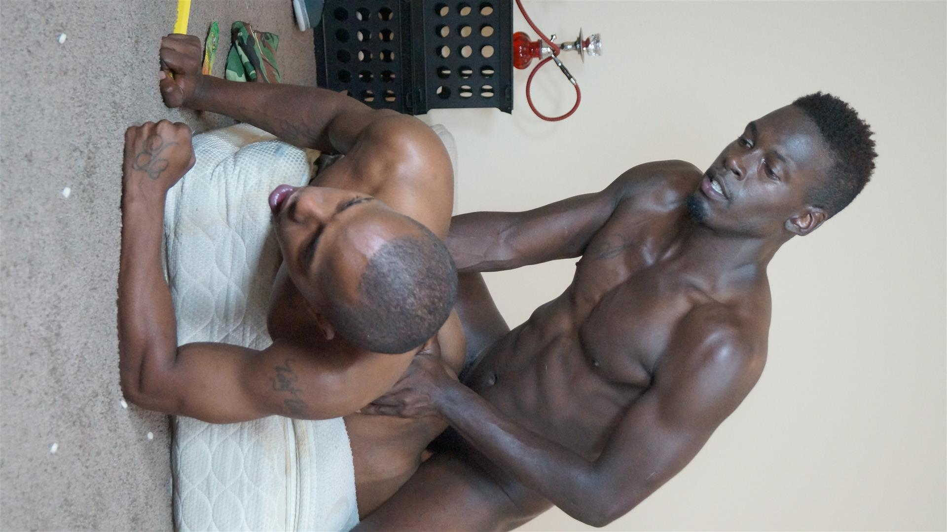 Trap-House-Boys-Ozzy-and-Dagger-Bareback-Thug-Porn-Amateur-Gay-Porn-08 Hardcore Thug Barebacking With A Big Black Uncut Dick